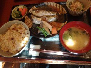 三松 魚定食