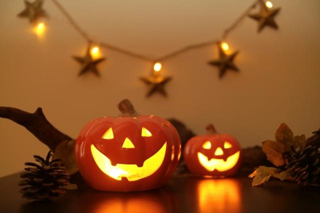 じかぼちゃランタン