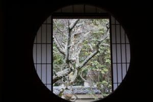 泉涌寺雲龍院 悟りの窓
