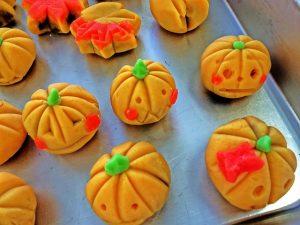 かぼちゃ茶巾
