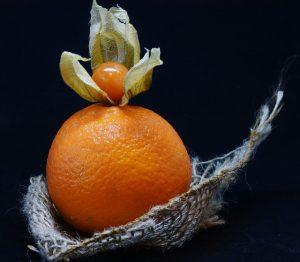 ほおずきonオレンジ
