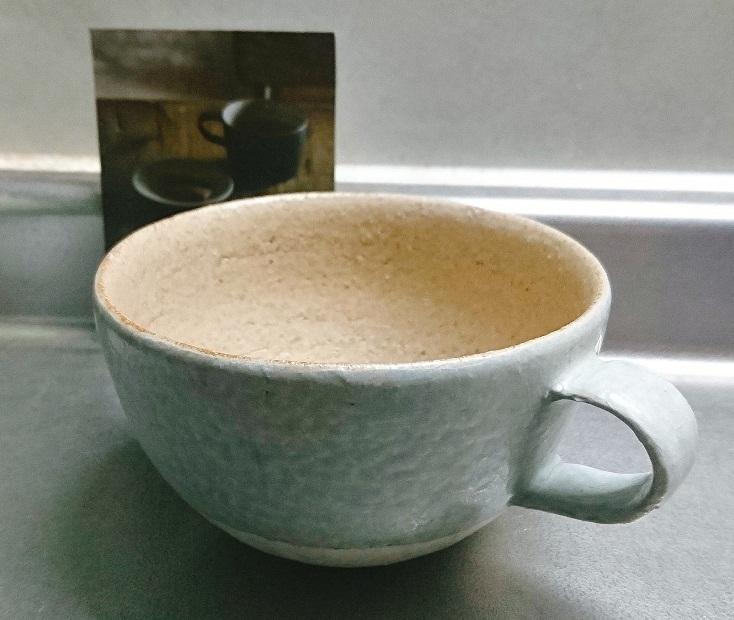 粉引のカップ