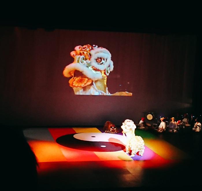 インドネシア・バリの獅子
