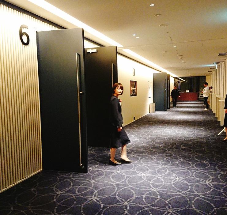 ブリリアホール廊下